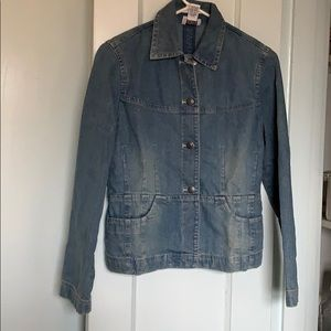 Ann Taylor Loft stretch denim jacket